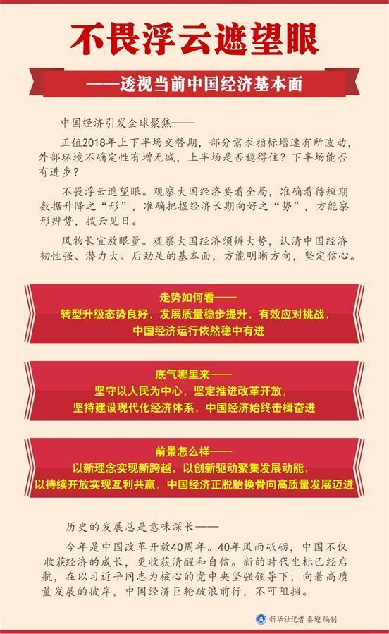 (新华全媒头条·图文互动)(1)不畏浮云遮望眼——透视当前中国经济基本面