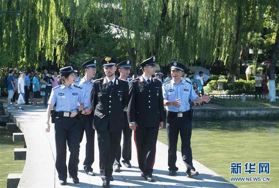 (社会)(2)中意警方启动第二次在华警务联合巡逻