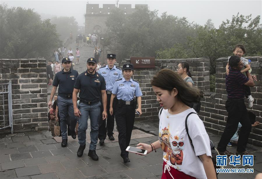 (社会)(7)中意警方启动第二次在华警务联合巡逻