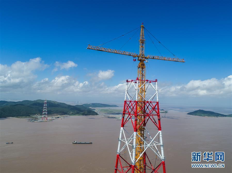 (经济)(5)世界最高输电铁塔进入施工冲刺阶段