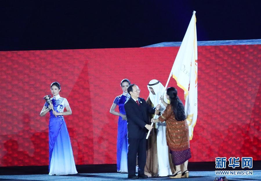 (亚运会)第18届亚运会闭幕式在雅加达举行