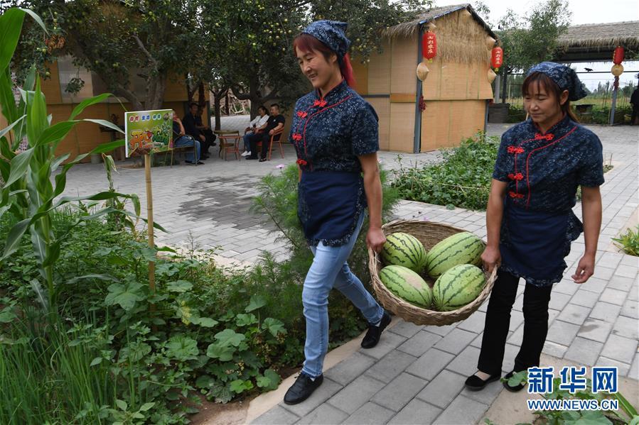 """(经济)(5)甘肃:乡村旅游让农民享受""""绿色收益"""""""