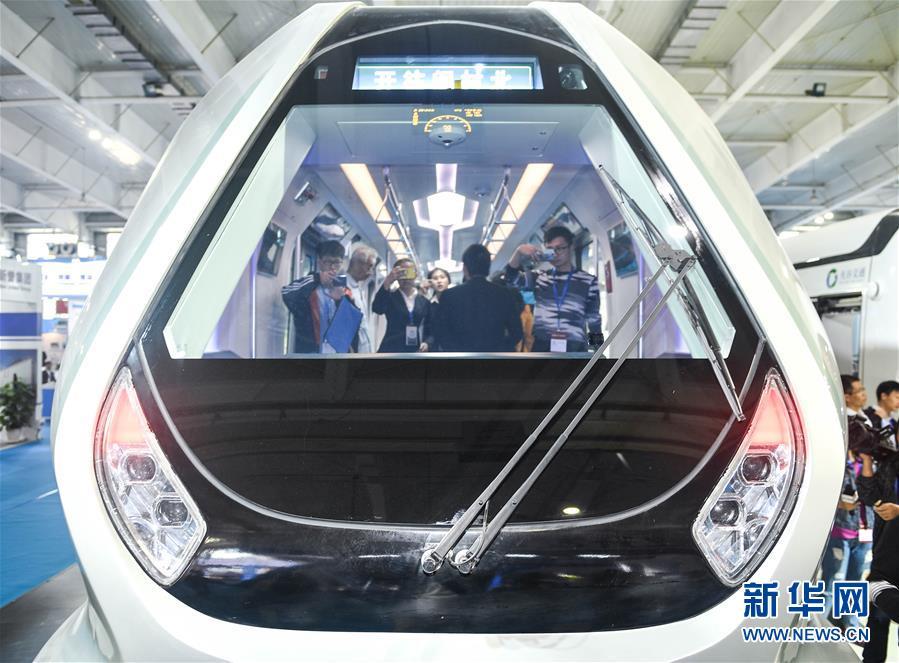(图文互动)(1)中车长客研制新一代智能地铁列车在长春首次亮相