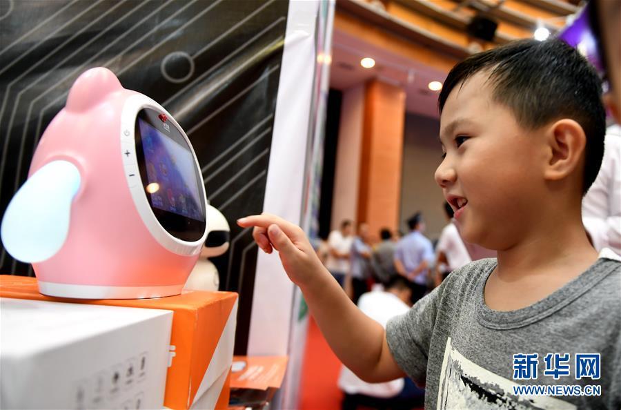 (中国-东盟博览会)(1)博览会上的高科技产品