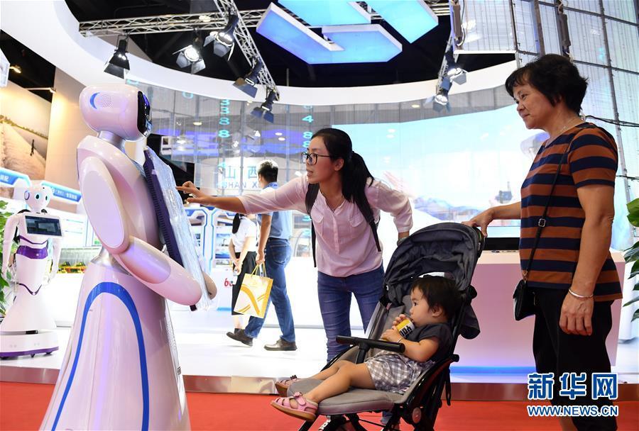 (中国-东盟博览会)(3)博览会上的高科技产品