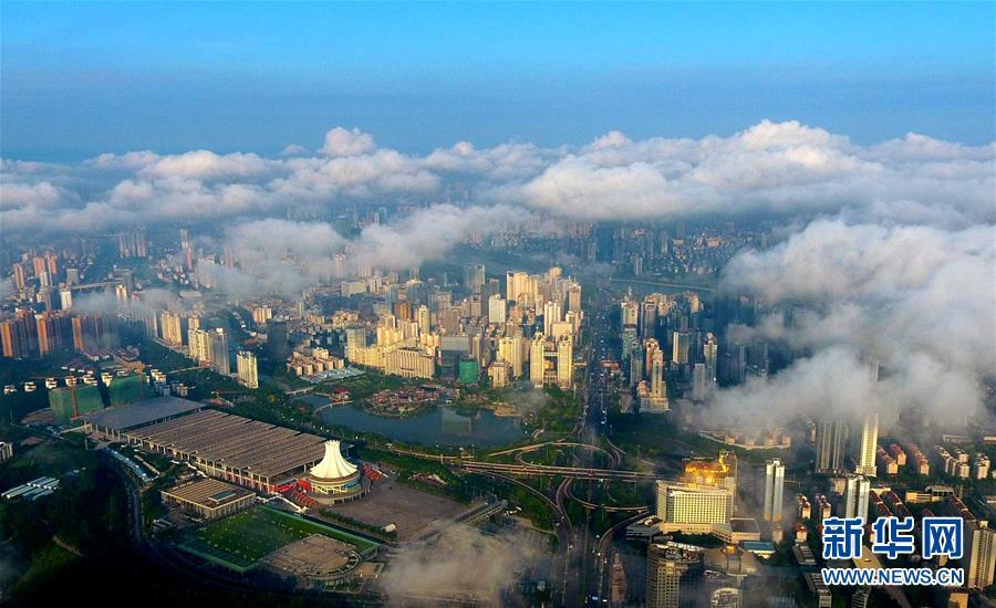 (图文互动)(1)开放之城 礼让之城 洁净之城——中国—东盟博览会永久举办地广西南宁的15年变迁