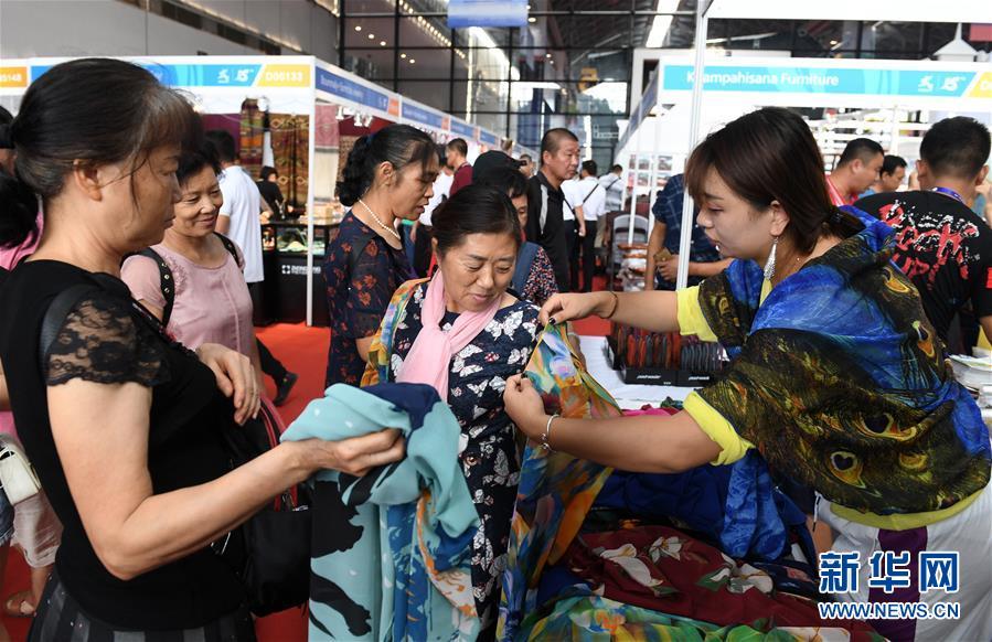 (中国-东盟博览会)(11)东博会迎来公众开放日