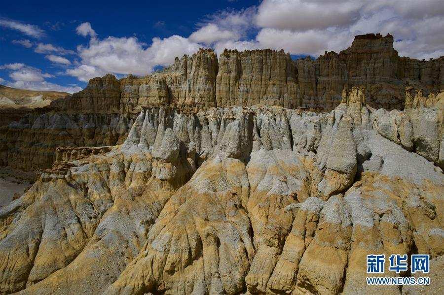 """(美丽中国)(2)西藏阿里:鲜为人知的""""五彩土林"""""""