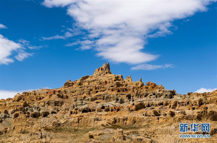 """(美丽中国)(3)西藏阿里:鲜为人知的""""五彩土林"""""""
