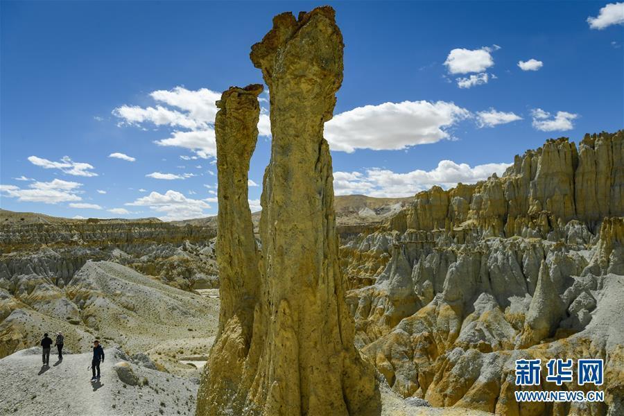 """(美丽中国)(6)西藏阿里:鲜为人知的""""五彩土林"""""""