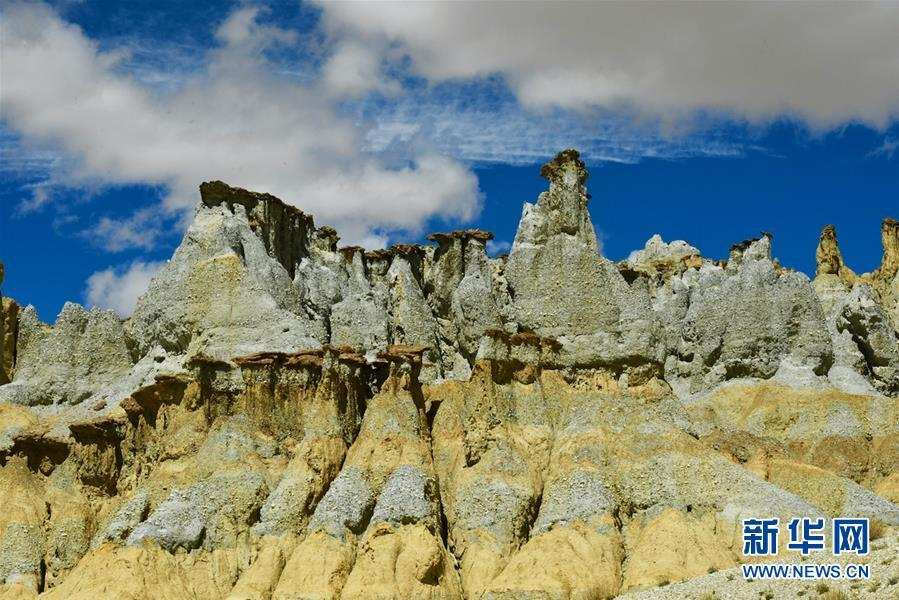 """(美丽中国)(8)西藏阿里:鲜为人知的""""五彩土林"""""""