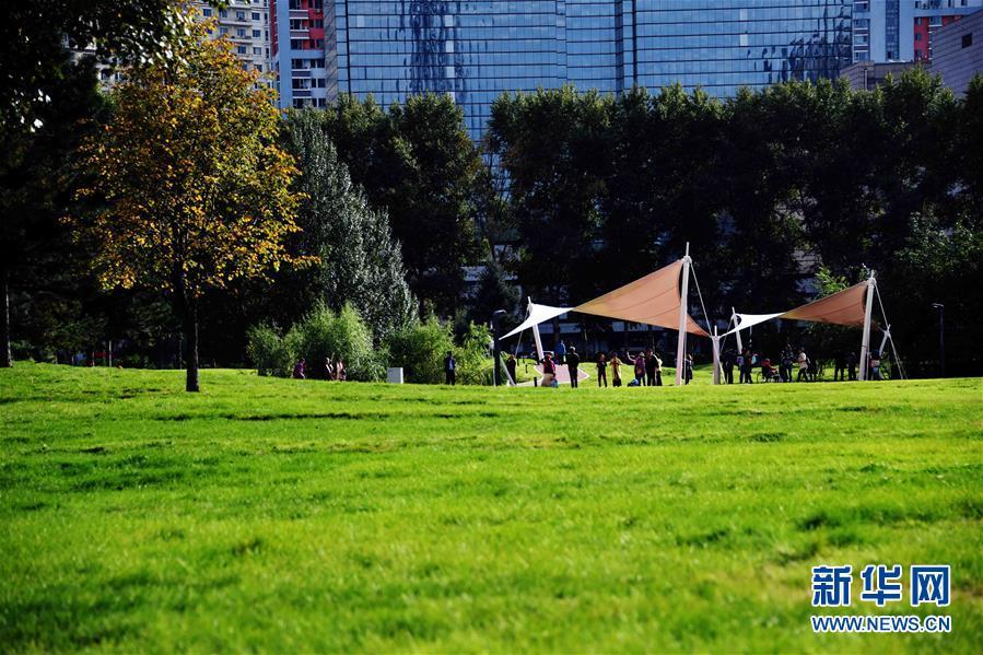 """(社会)(5)哈尔滨:高尔夫球场""""变身""""开放公园"""