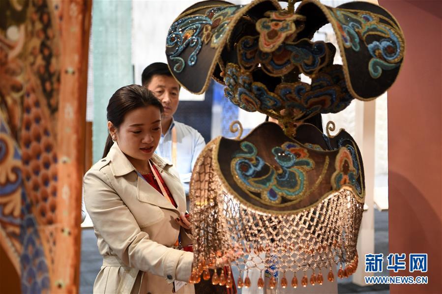 (文化)(1)第三届丝绸之路(敦煌)国际文化博览会异彩纷呈