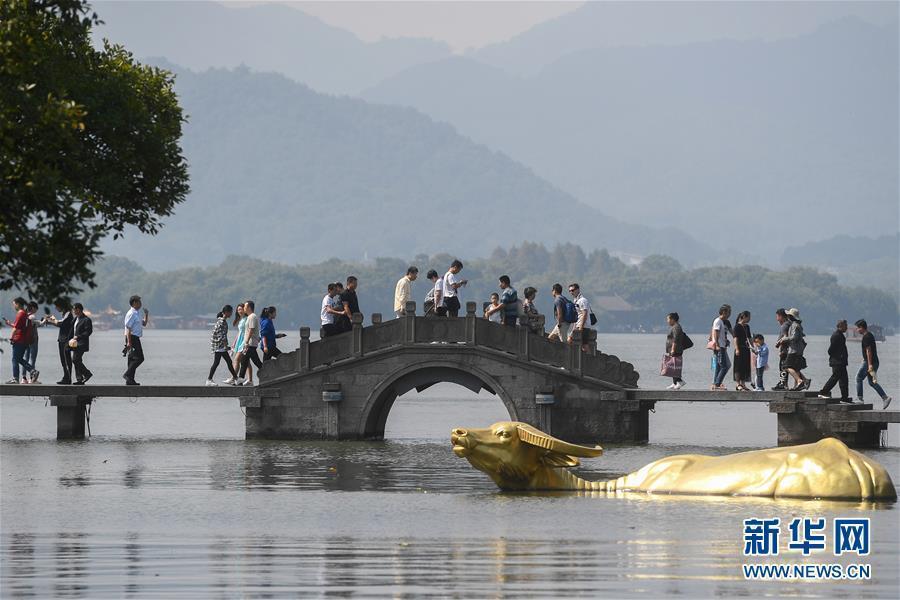 """(社会)(1)国庆假期杭州""""纳客""""逾1700万"""