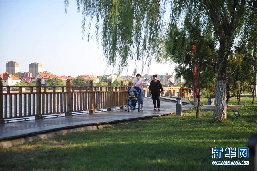 (生态)(2)河北黄骅:城市荒地变身生态公园