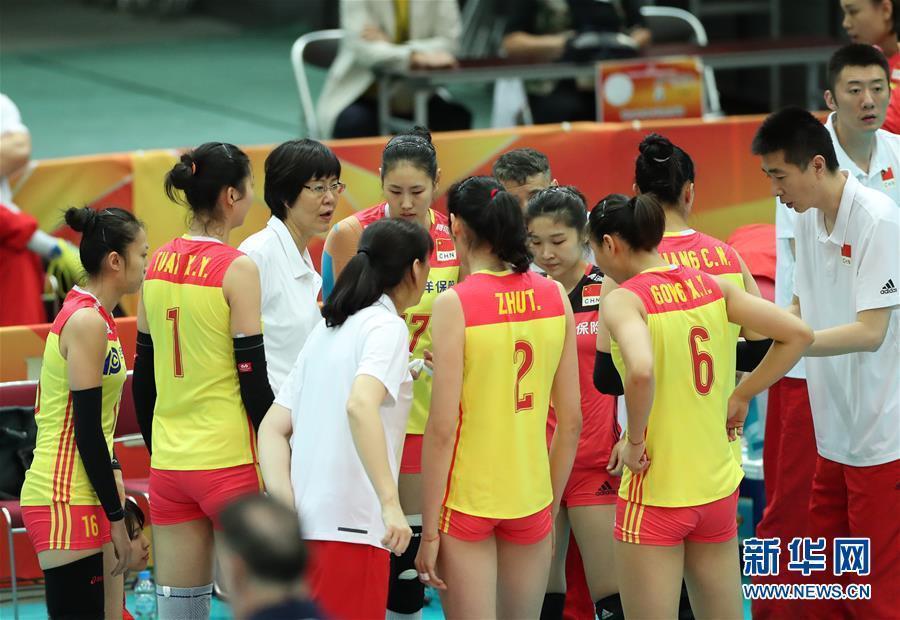 (体育)(5)排球——女排世锦赛:中国胜美国