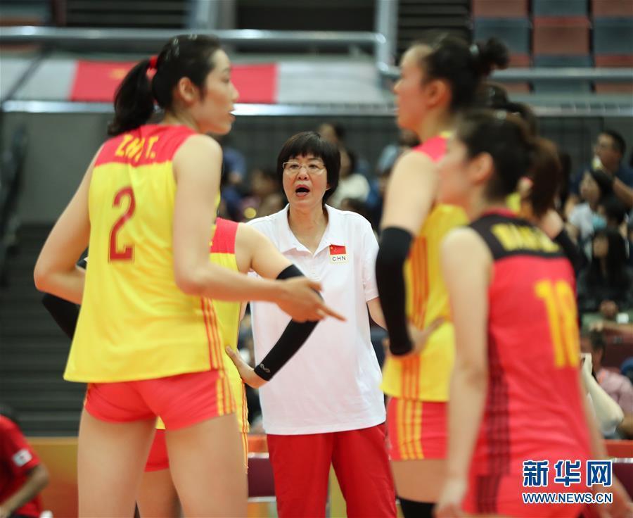 (体育)(11)排球——女排世锦赛:中国胜美国