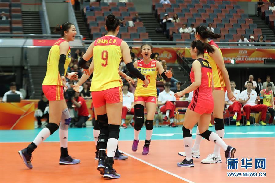 (体育)(12)排球——女排世锦赛:中国胜美国