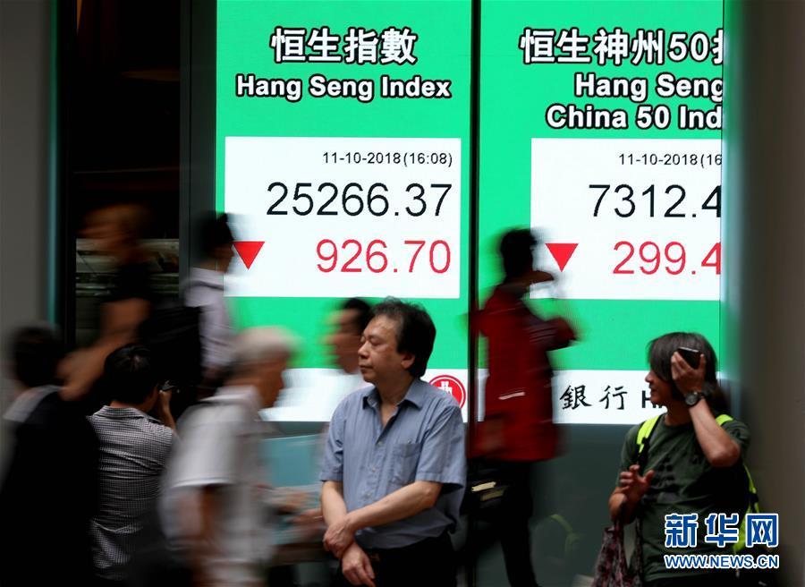 (经济)港股11日跌3.54% 收报25266.37点