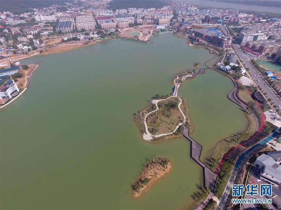 (环境)(5)整治水环境 长沙后湖换新颜