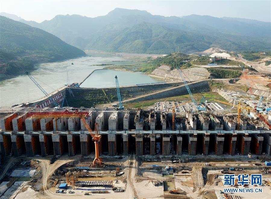 (经济)(1)大藤峡水利枢纽工程建设正酣