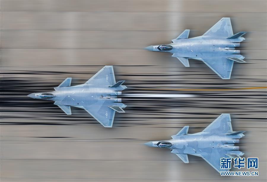 (图文互动)(1)歼-20将以新涂装新编队新姿态亮相航展——中国空军新闻发言人介绍空军参加第12届中国航展有关情况