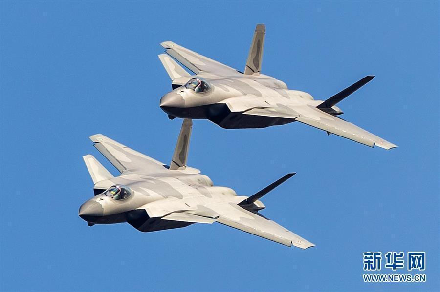 (图文互动)(2)歼-20将以新涂装新编队新姿态亮相航展——中国空军新闻发言人介绍空军参加第12届中国航展有关情况
