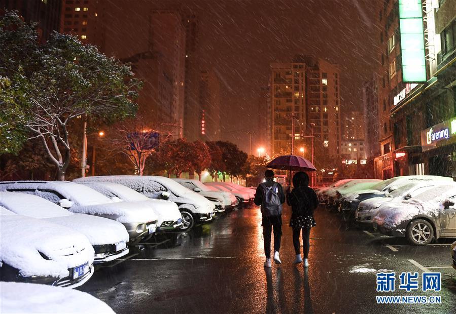 (生态)(1)西宁降雪