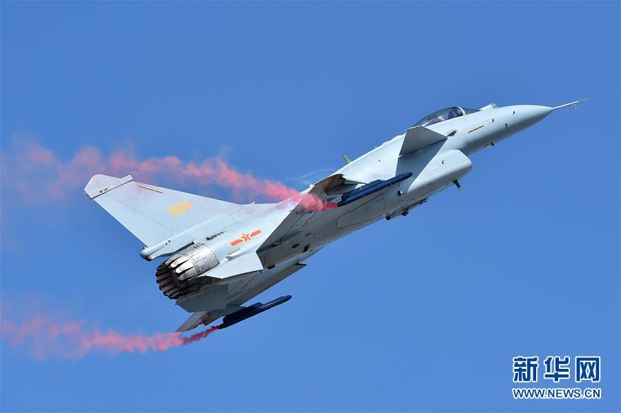 (科技)(1)歼-10B惊艳亮相航展