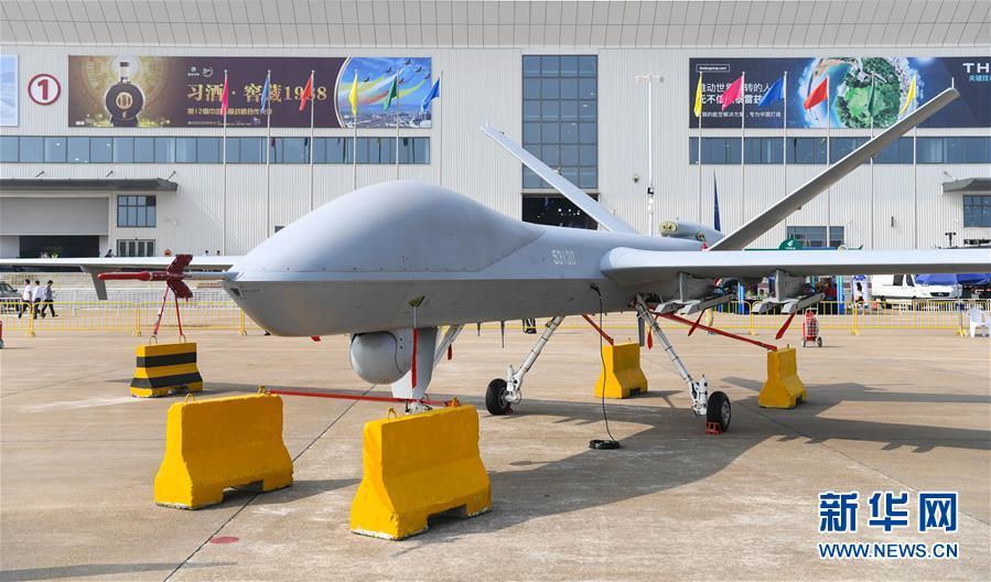 (科技)(2)中国空军盛装亮相中国航展