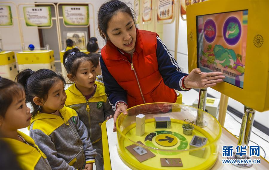 (科技)(2)河北深州:走进中国流动科技馆