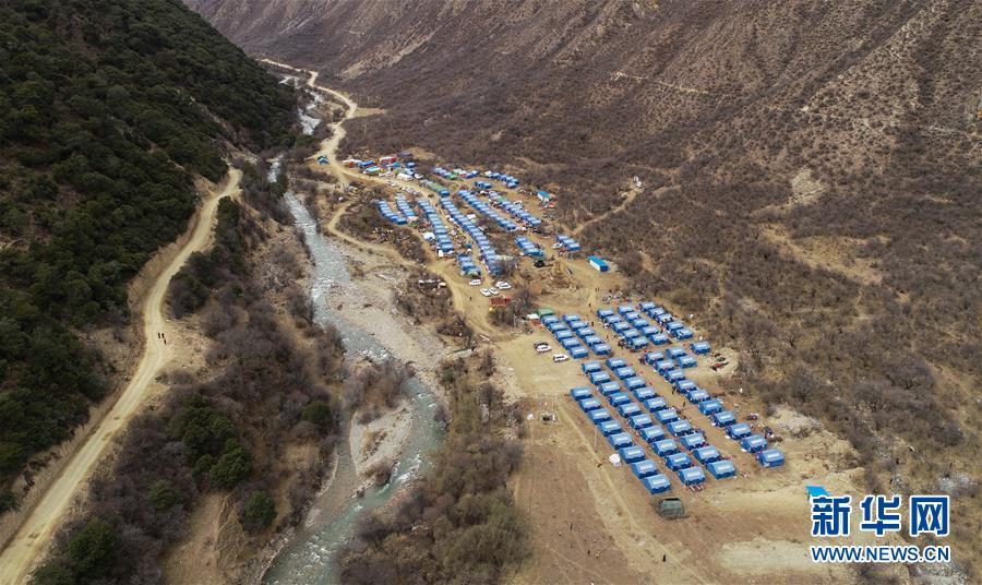 (图文互动)(1)生活物资供应充足 群众安全有保障——西藏金沙江堰塞湖安置点见闻