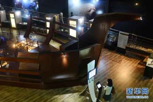 (国际·图文互动)(1)中文交往与海上丝路的历史见证——访文莱海事博物馆