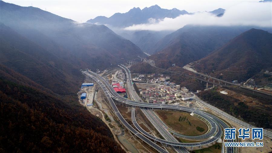 (经济)(1)陕西柞水至山阳高速公路即将通车