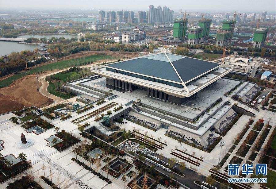 (文化)(1)孔子博物馆开馆试运行 首批2000多件孔府文物搬入新家