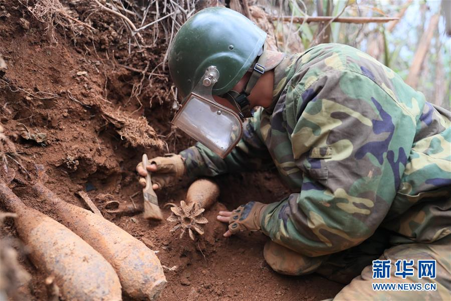 (图文互动)(1)和平年代,离死神最近的人——南部战区陆军云南扫雷大队边境扫雷排爆记事