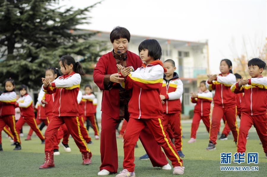 (教育)(1)河北邢台:传统文化进校园