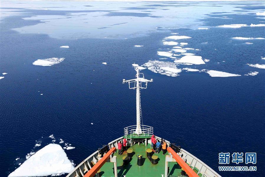 """(""""雪龙""""探南极)(1)美丽的普里兹湾"""