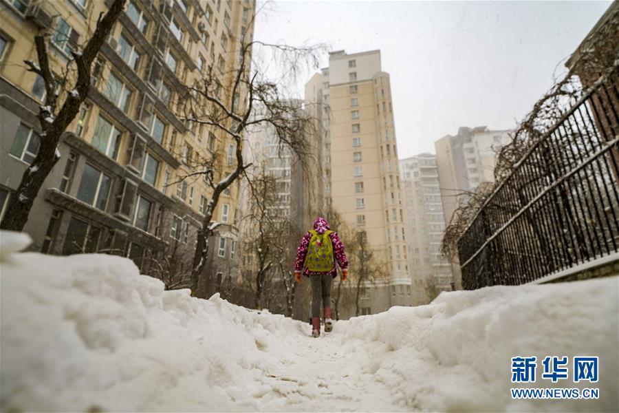 (環境)(1)烏魯木齊迎來降雪