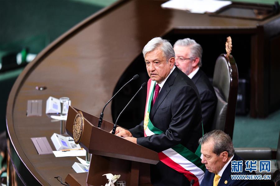 (國際)(1)墨西哥舉行總統權力交接儀式