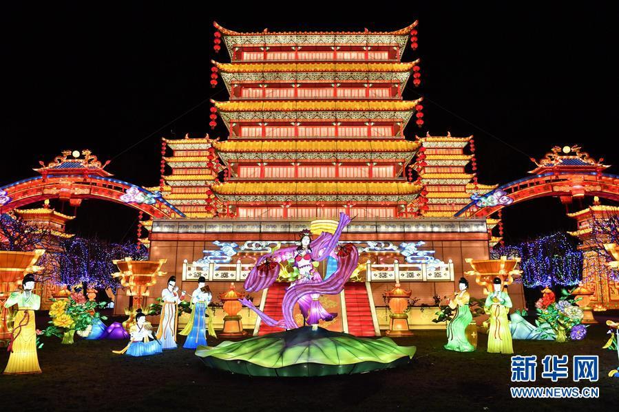 (國際)(1)第二屆加亞克中國彩燈節即將開幕