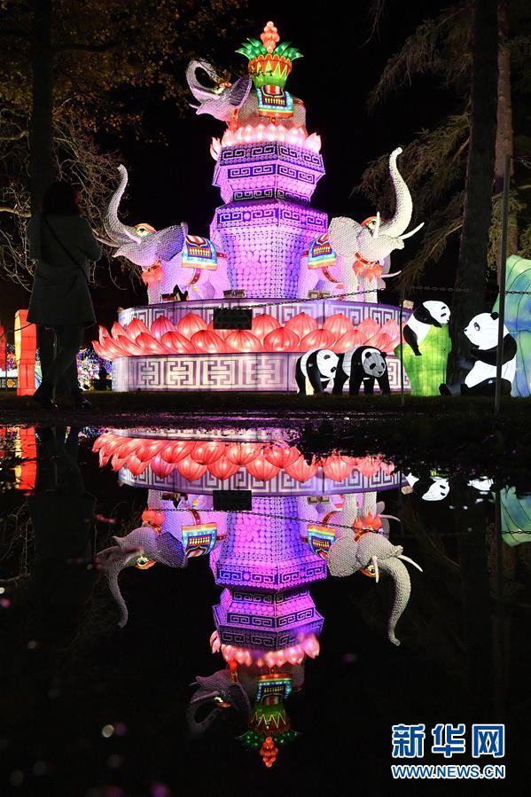 (国际)(2)第二届加亚克中国彩灯节即将开幕