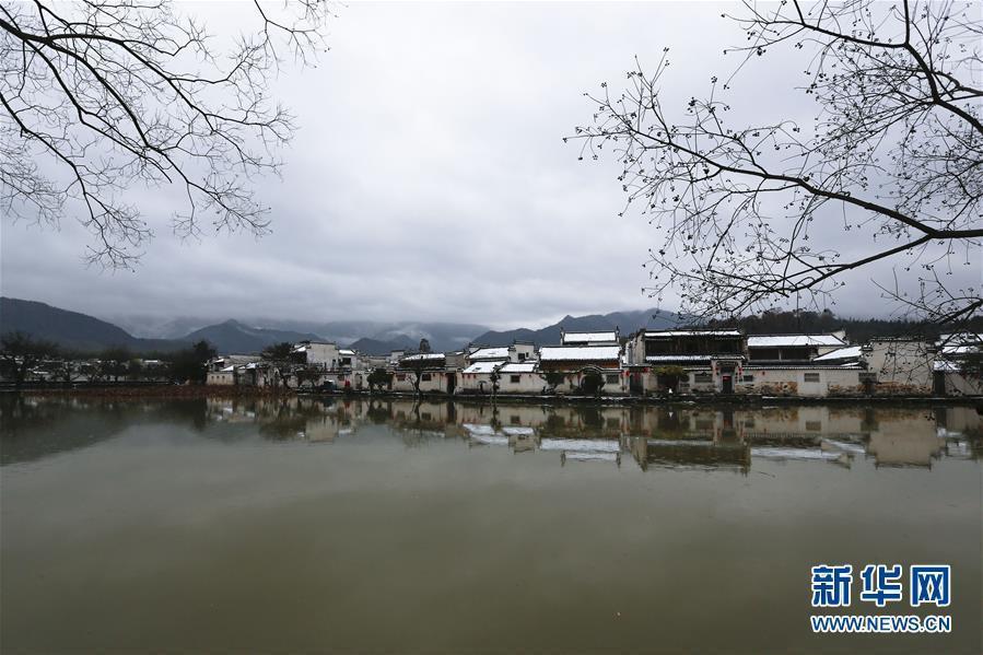 #(环境)(1)安徽黄山:雪落宏村