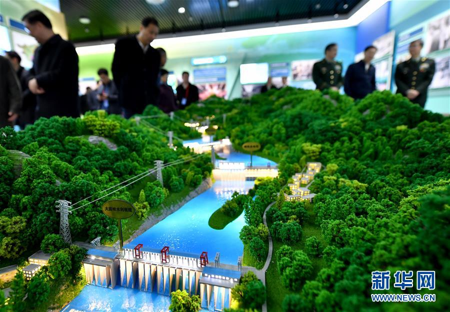 (社会)(1)广西壮族自治区成立60周年大型成就展开幕