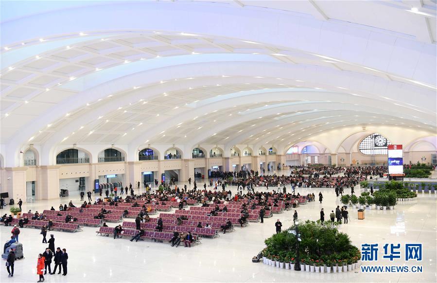 (社会)(2)哈尔滨站改造开通