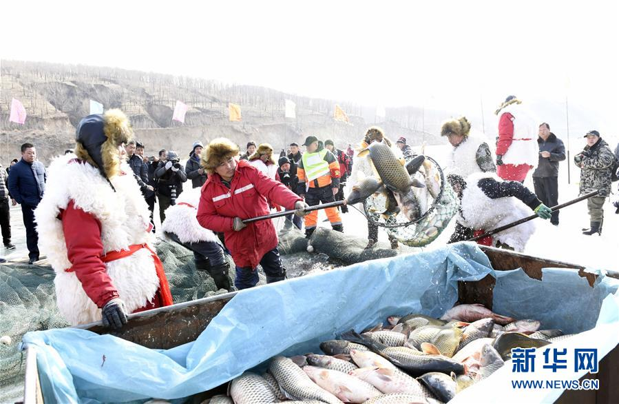 #(社会)(2)查干湖冬捕技艺在呼和浩特上演