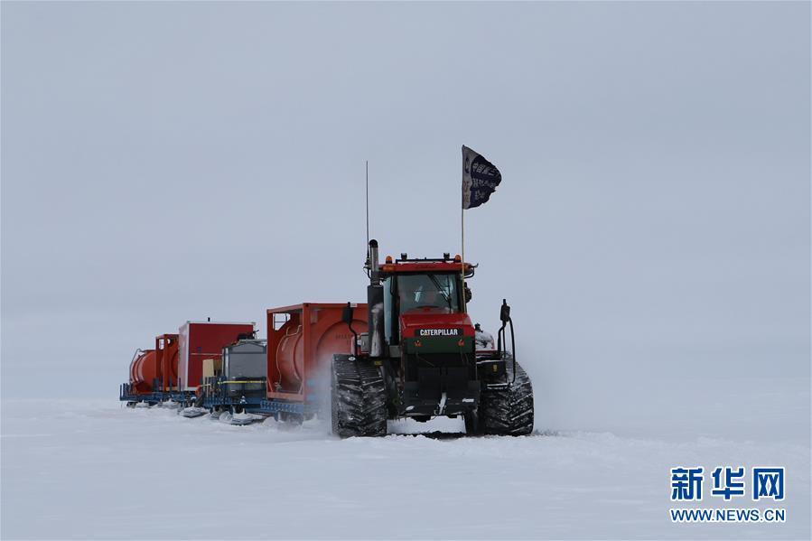 """(第35次南极科考·图文互动)(5)中国南极科考队两支内陆小分队顺利""""会师"""""""