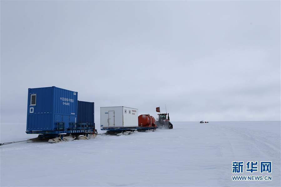 """(第35次南极科考·图文互动)(4)中国南极科考队两支内陆小分队顺利""""会师"""""""