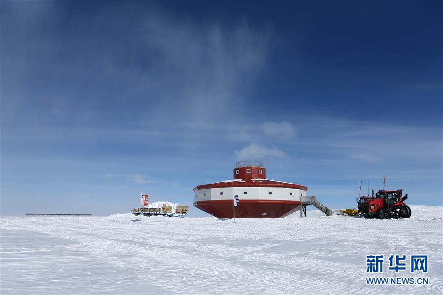 """(第35次南极科考·图文互动)(1)中国南极科考队两支内陆小分队顺利""""会师"""""""