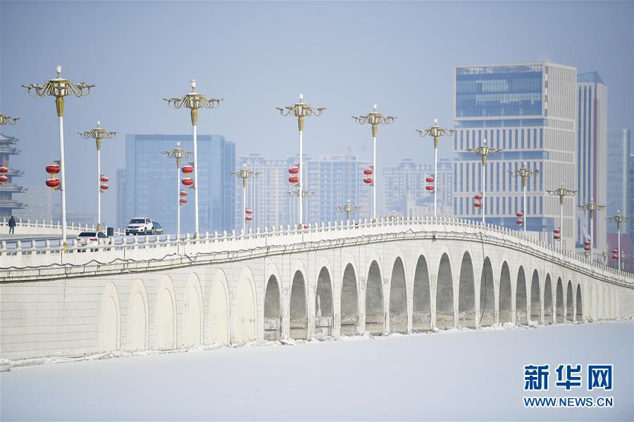 (美丽中国)(1)塞上湖城 银装素裹